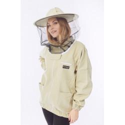 Včelařská blůza s kloboukem rozepínací STANDARD Konigin